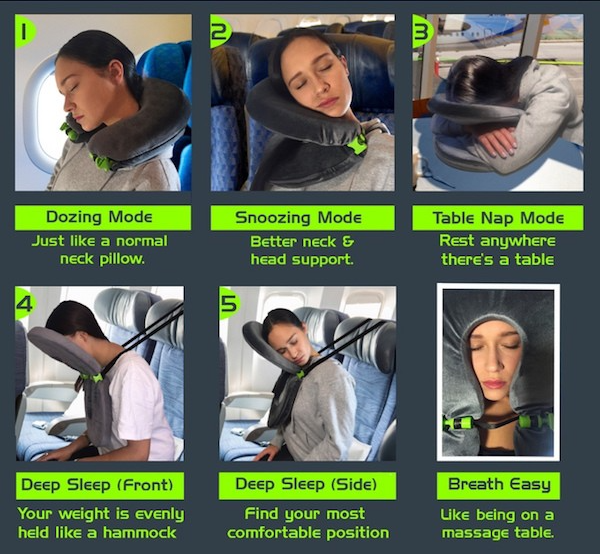 Finally a Travel Pillow that works!